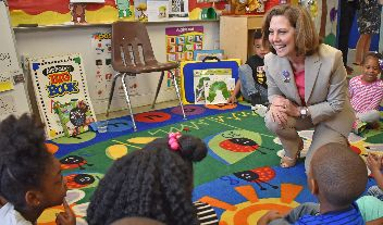 Westview Welcomes First Lady Pamela Northam