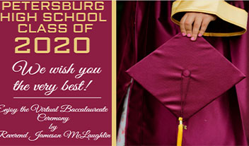 The 2020 Baccalaureate Exercise for Petersburg High School