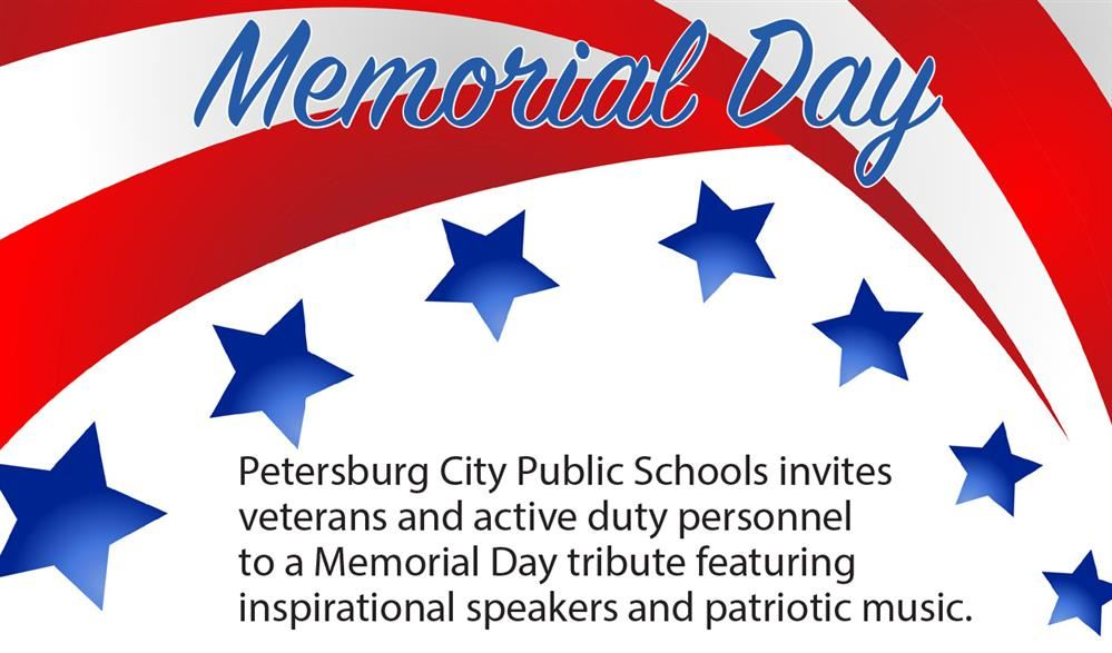Memorial Day patriotic graphic