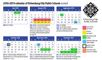part of revised calendar