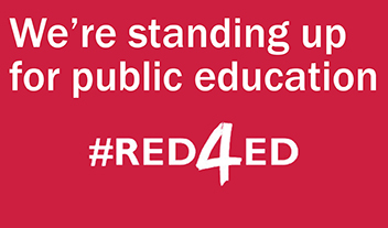 We're standing up for public education